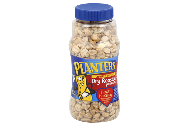 PLANTERS® Lightly Salted Dry Roasted Peanuts 16 oz