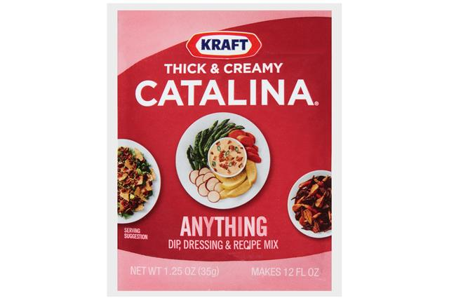 Kraft(R) Thick & Creamy Catalina(R) Dip, Dressing & Recipe Mix 1.25 Oz. Packet