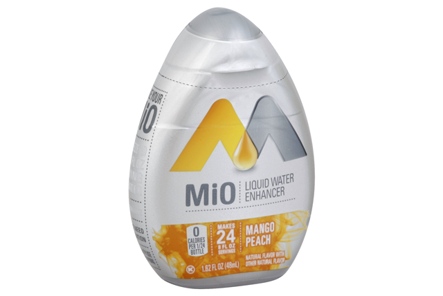 Mio Mango Peach Liquid Water Enhancer 1.62 Oz Plastic Bottle