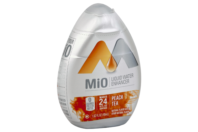 Mio Peach Tea Liquid Water Enhancer 1.62 Oz Plastic Bottle