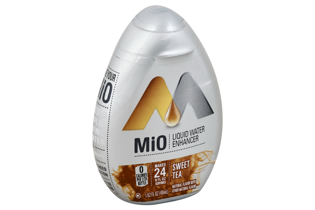 Mio Sweet Tea Liquid Water Enhancer 1.62 Oz Plastic Bottle