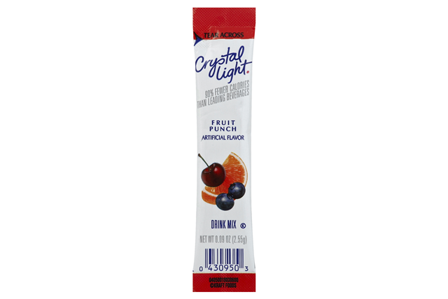 Crystal Light 1.86 Oz On The Go Soft Drink-Powdered Sugar Free Variety Pack  1/18Ct   1 Box/Carton I