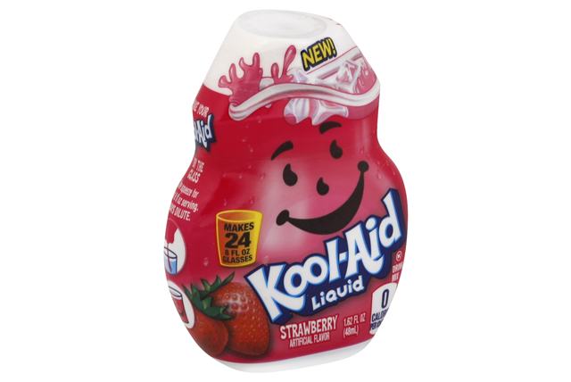 Kool-Aid Strawberry Liquid Drink Mix 1.62 fl. oz. Bottle