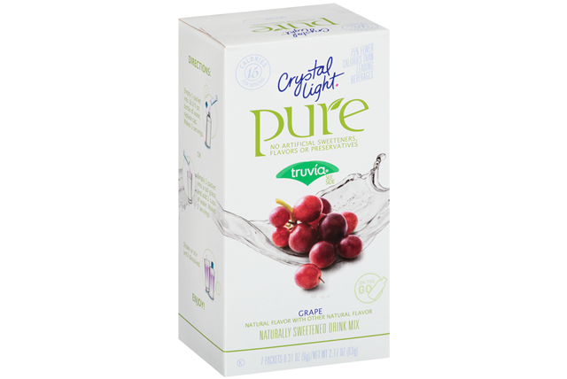 Crystal Light Pure Grape On the Go Drink Mix 7-0.31 oz. Packets
