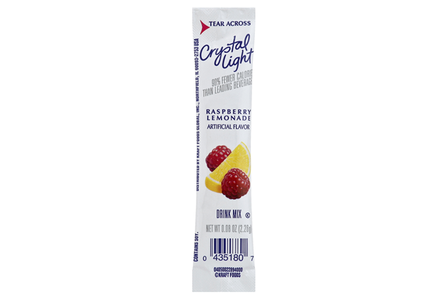 Crystal Light On The Go Raspberry Lemonade Drink Mix 10 0