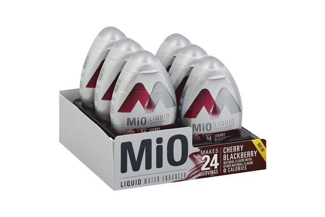 MiO Cherry Blackberry Liquid Water Enhancer 1.62 fl. oz. Bottle