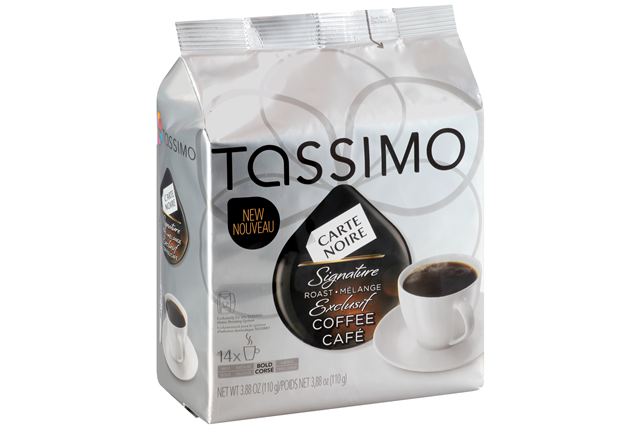 tassimo carte noire signature roast coffee t discs 14 ct bag kraft recipes. Black Bedroom Furniture Sets. Home Design Ideas