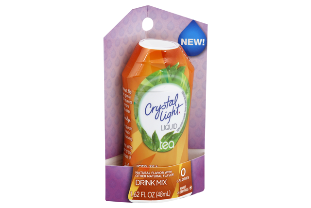CRYSTAL LIGHT Iced Tea Liquid Drink Mix 1.62 oz. Bottle