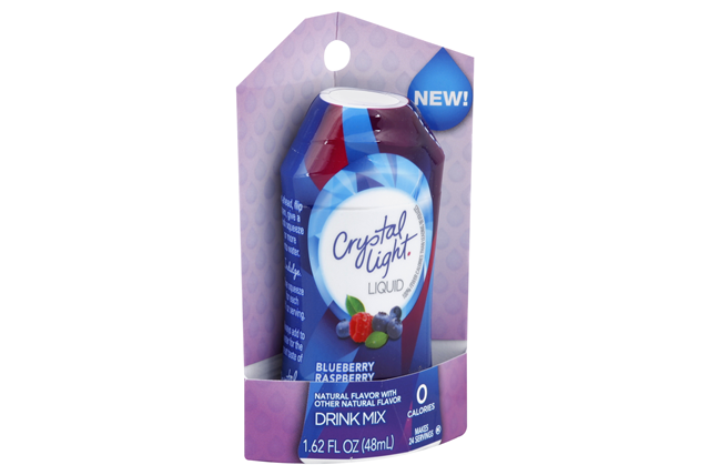 CRYSTAL LIGHT Blueberry Raspberry Liquid Drink Mix 1.62 oz. Bottle