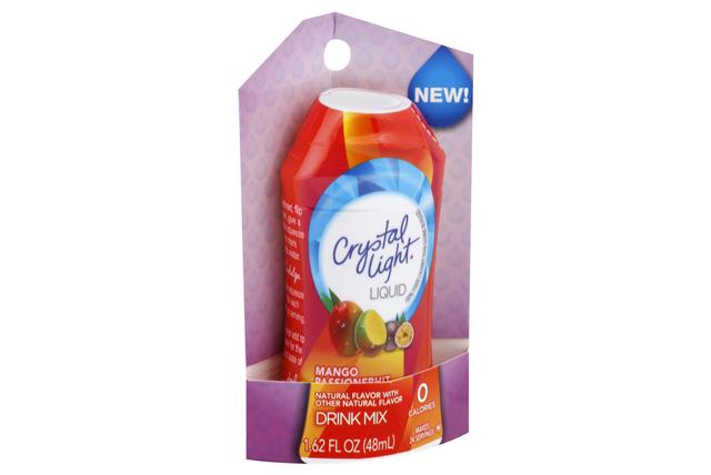 CRYSTAL LIGHT Mango Passion Fruit Liquid Drink Mix 1.62 oz. Bottle