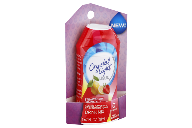 CRYSTAL LIGHT Strawberry Lemonade Liquid Drink Mix 1.62 oz. Bottle
