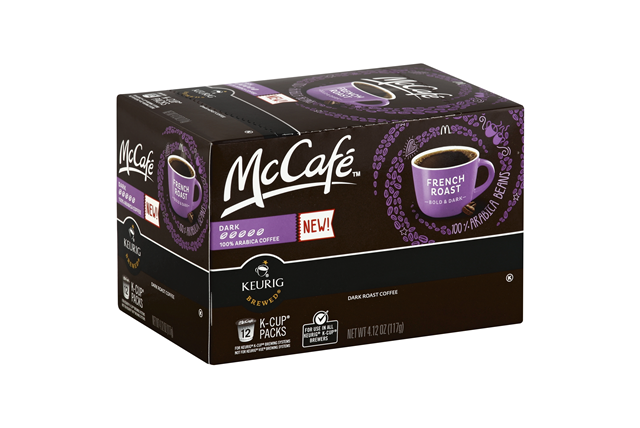 McCafe(r) French Roast Coffee K-Cup(r) Packs 12 ct Box
