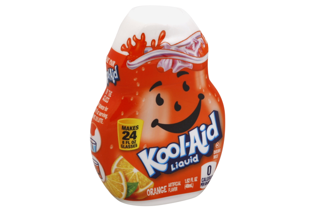 Kool-Aid Orange Liquid Drink Mix 1.62 fl. oz. Bottle