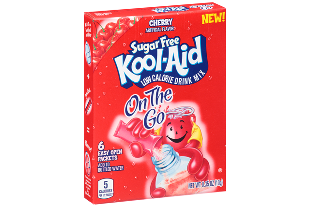 Kool-Aid Sugar Free Cherry Drink Mix 6 ct Packets
