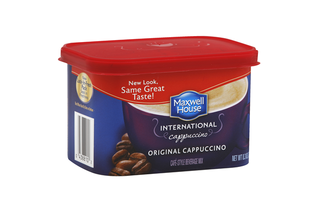 Maxwell House International Original Cappuccino 8.3 oz Canister