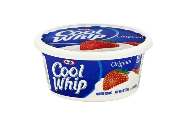 Cool Whip Original Whipped Topping-Frozen 8 Oz. Tub