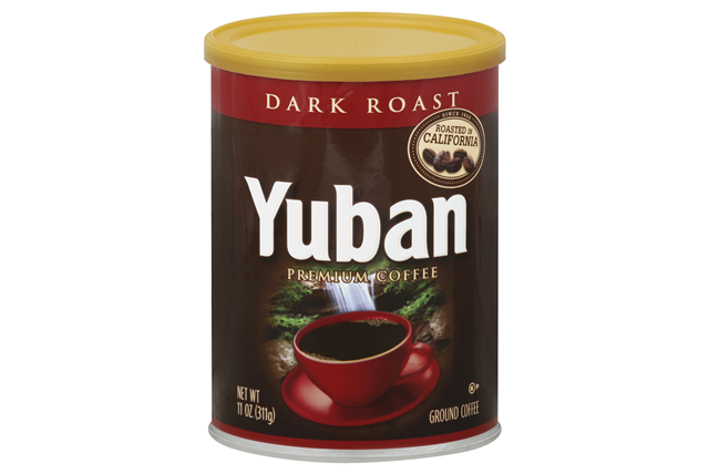 Yuban Dark Roast Coffee 11 Oz Canister