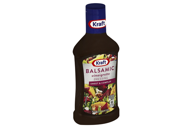 KRAFT Balsamic Vinaigrette Dressing 16 oz Bottle