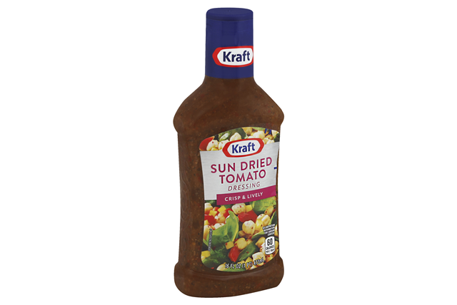 KRAFT Sun Dried Tomato Vinaigrette 16 oz Bottle