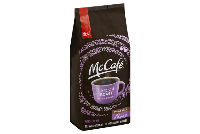 McCafe(r) French Roast Whole Bean Coffee 12 oz. Bag