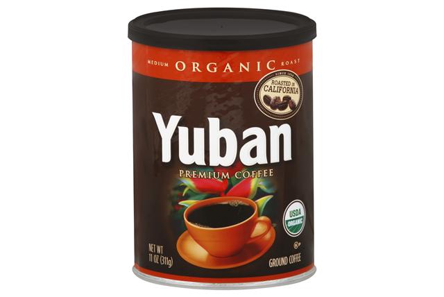 Yuban Organic Medium Roast Coffee 11 Oz Canister