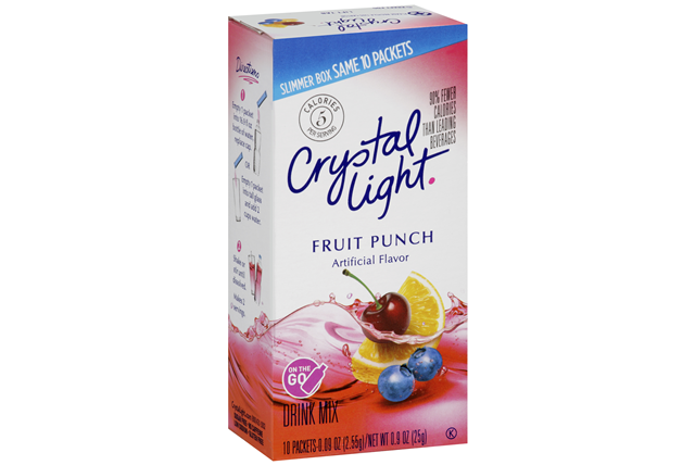 Crystal Light On the Go Fruit Punch Drink Mix 10-0.09 oz. Packets