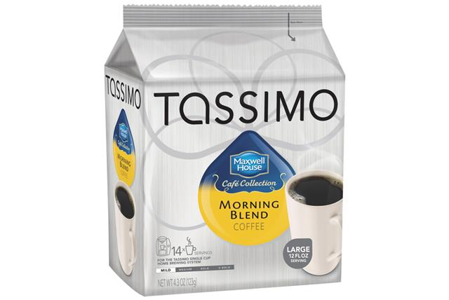 Tassimo Maxwell House Cafe Collection Morning Blend Coffee 14 Ct Bag