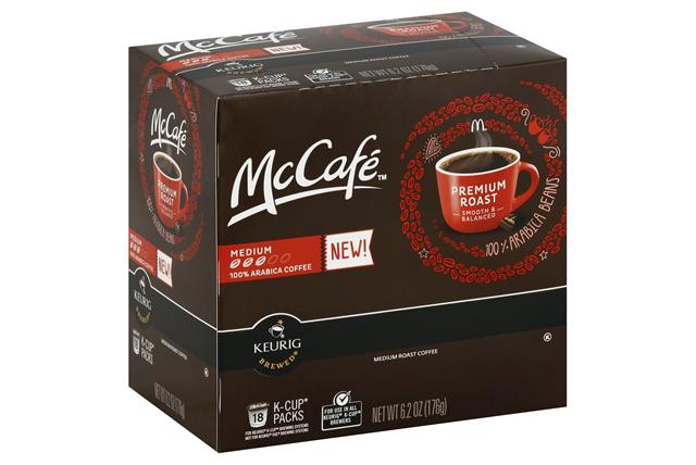 McCafe(r) Premium Roast Coffee K-Cup(r) Packs 18 ct Box