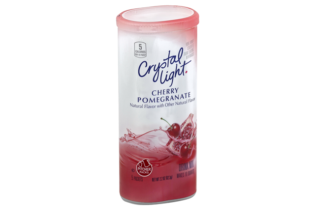 CRYSTAL LIGHT MULTISERVE Cherry Pomegranate Sugar Free 2.2 oz. Packet