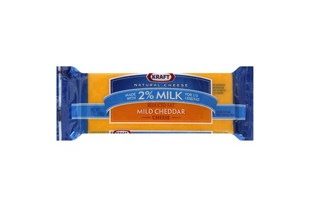 Kraft 2% Rf Mild Cheddar Chunk Cheese
