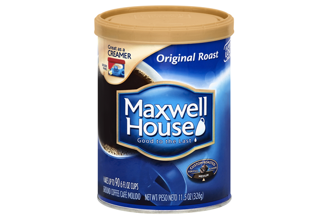 Maxwell House Original Roast Ground Coffee 11.5 oz. Canister