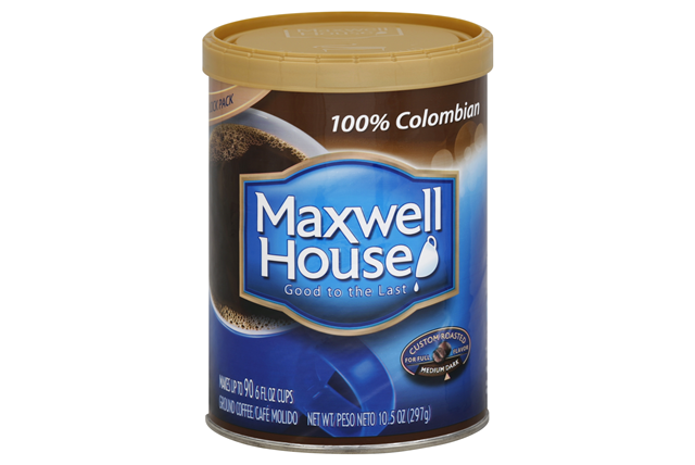 Maxwell House 100% Colombian Ground Coffee 10.5 oz. Canister