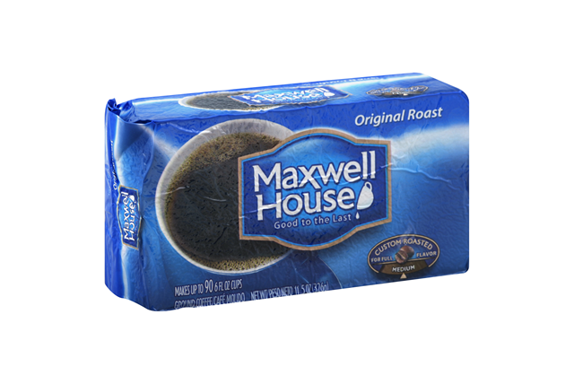 Maxwell House Original Roast Ground Coffee 11.5 oz. Brick