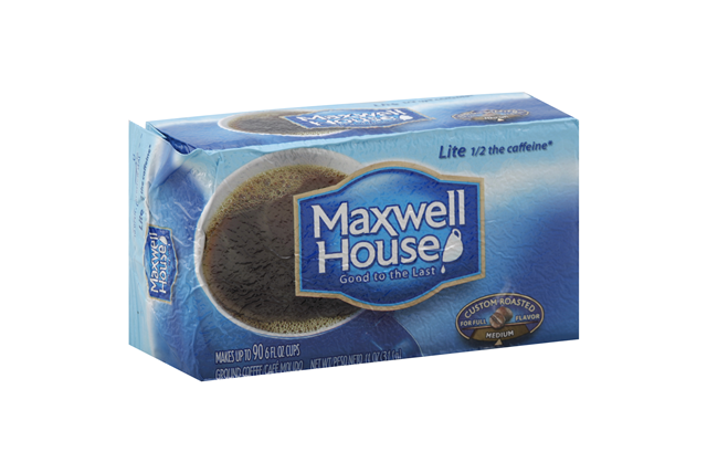 Maxwell House Lite Ground Coffee 11 oz. Brick
