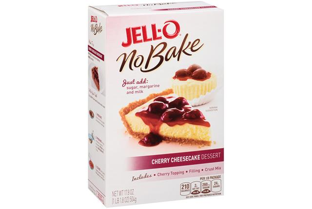 Jell-O No Bake Cherry Cheesecake Dessert Mix  17.8 Oz Box