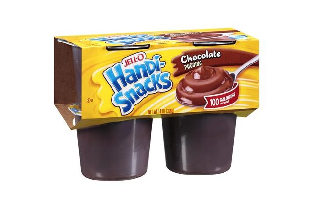 Jell-O Handi-Snacks Chocolate Pudding 4 Ct Cups