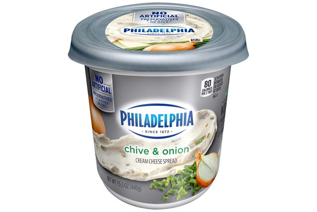 Philadelphia  Chive And Onion Cream Cheese-Soft 15.5 Oz Tub
