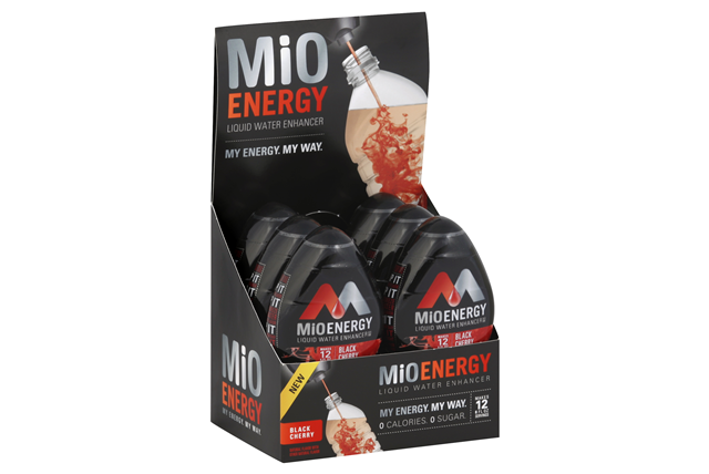 MiO Energy Black Cherry Liquid Water Enhancer 6-1.08 fl. oz. Bottles