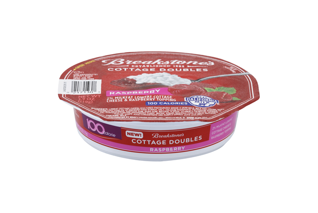 Breakstones Cottage Doubles Raspberry Cheese 39 Oz Tray
