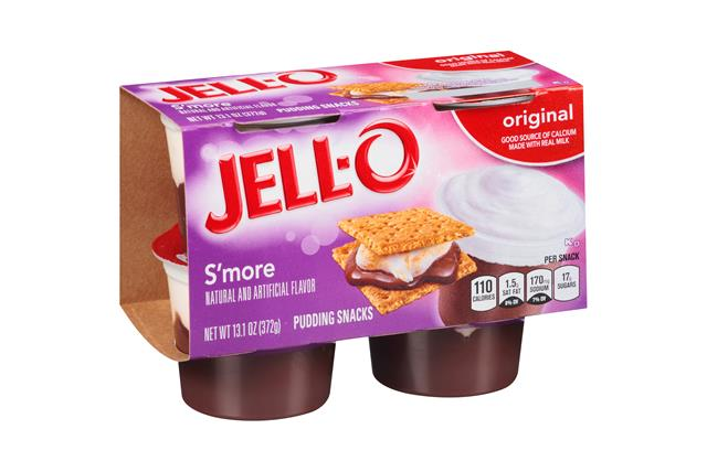 Jell-O Pudding Ready To Eat  Smores 4 Ct Cups