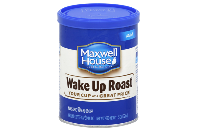 Maxwell House Wake Up Roast Ground Coffee 11.5 oz. Canister