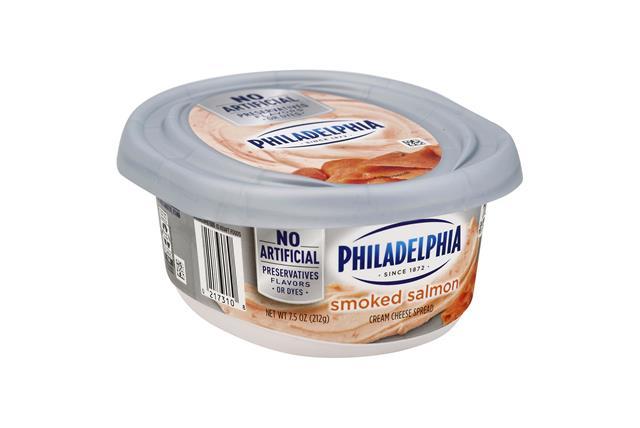 Philadelphia  Salmon  Cream Cheese 8 Oz Tub