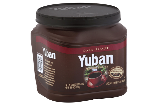 Yuban Dark Roast Ground Coffee 29 oz. Canister