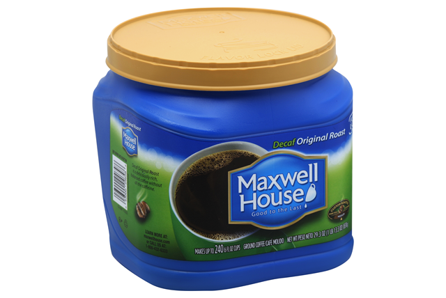 Maxwell House Decaf Original Roast Ground Coffee 29.3 oz. Canister