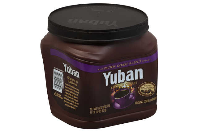 Yuban Pacific Coast Blend Ground Coffee 29 oz. Canister