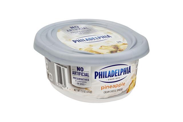 Philadelphia Pineapple Cream Cheese-Soft 8 Oz Tub