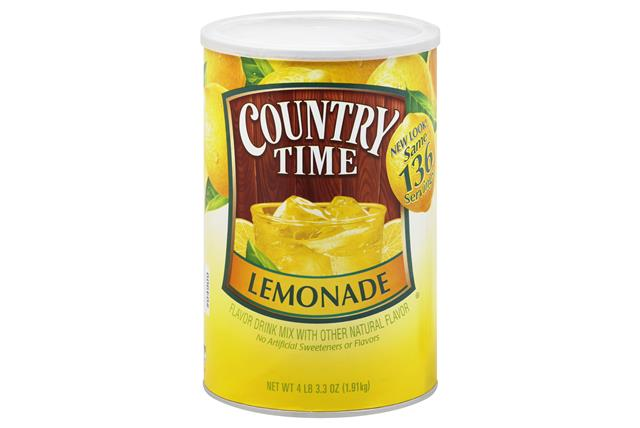 COUNTRY TIME 67.3 OZ SOFT DRINK-POWDERED  LEMONADE 1 CAN EACH