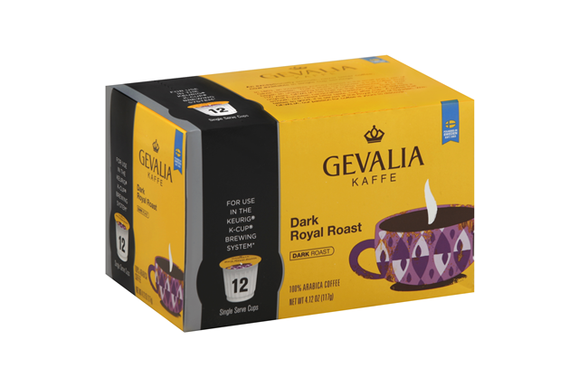 Gevalia Dark Royal Roast Coffee 4.12 oz. Box