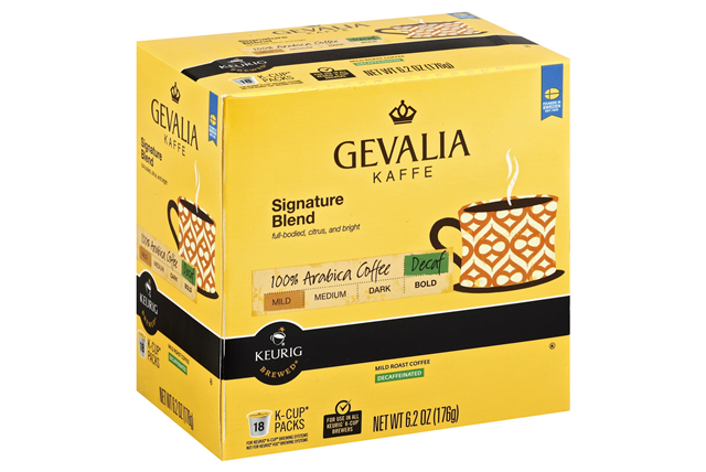 Gevalia Signature Blend Decaf 6.20 Box