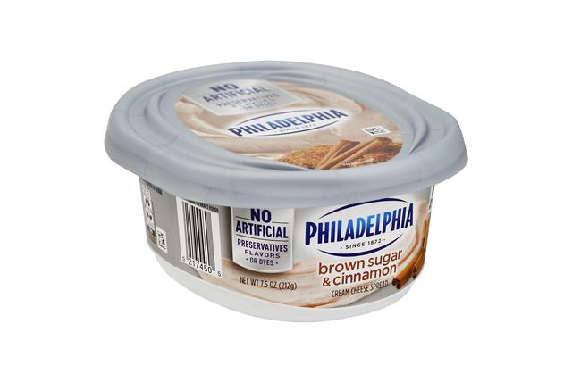 Philadelphia Brown Sugar & Cinnamon Cream Cheese Spread 8 Oz. Tub